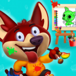 Coloring Paint Games:Kids,Paint,Book,Drawing,Time 1.2 (MOD, Unlimited Money)