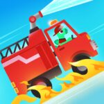 Dinosaur Fire Truck – Firefighter simulator games Varies with device  (MOD, Unlimited Money)