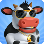 Idle Cow Clicker Games: Idle Tycoon Games Offline 3.1.4 (MOD, Unlimited Money)