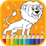 Kids Coloring Book : Cute Animals Coloring Pages 1.0.1.7 (MOD, Unlimited Money)