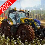 New Tractor Drive 2021:Offroad Sim Farming Games 1.03 (MOD, Unlimited Money)