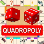 Quadropoly Best AI Board Business Trading Game 1.78.90 (MOD, Unlimited Money)
