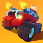 Smash racing: drive from cops, make an epic crash! 7.1.2   (MOD, Unlimited Money)