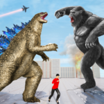 Angry Dinosaur Attack Dinosaur Rampage Games 1.54  (MOD, Unlimited Money)