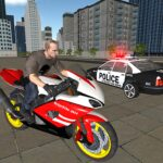 Bike Driving Simulator: Police Chase & Escape Game  (MOD, Unlimited Money) 6