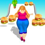 Body race hair challenge fat 2 fit girl game 3d 1  (MOD, Unlimited Money)