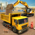 City Construction Truck Game 1.7  (MOD, Unlimited Money)