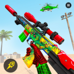 Fps Counter Terrorist Grand Robot Shooting Game  (MOD, Unlimited Money) 1.22