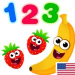 Funny Food 123! Kids Number Games for Toddlers  (MOD, Unlimited Money)2.7.0.15