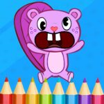Happy Tree Paint Coloring Book 1.7 (MOD, Unlimited Money)