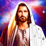 Jesus Coloring Book, Color by Number Paint Games 2.4  (MOD, Unlimited Money)