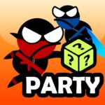 Jumping Ninja Party 2 Player Games  (MOD, Unlimited Money) 4.1.3