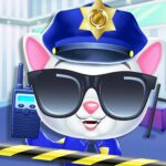 Kitty Cat Police Fun Care & Thief Arrest Game  (MOD, Unlimited Money) 6.0