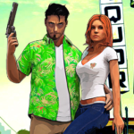 Miami Gangster Crime City – Open World Games 2021  (MOD, Unlimited Money) 1.17