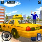 Modern Cab Taxi City Driving – Taxi Driving Games  (MOD, Unlimited Money) 1.1.8