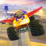Offroad Flying Monster Truck Driving  (MOD, Unlimited Money) 1.5