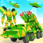 US Army Robot Missile Attack: Truck Robot Games 35 (MOD, Unlimited Money)