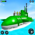 US Army Submarine Driving Military Transport Game  (MOD, Unlimited Money) 3.6