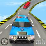 US Police Limo Ramp Car Stunts: Police Car Games  10.3 (MOD, Unlimited Money)