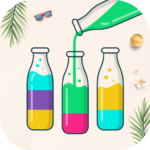 Watery Bottle – Water Color Sort Puzzle Game  (MOD, Unlimited Money) 1.2.4