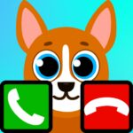 fake call talking dog game 8.0  (MOD, Unlimited Money)