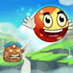 Ball's Journey 6 – Red Bounce Ball Heroes  (MOD, Unlimited Money) 1.1.0