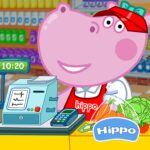 Cashier in the supermarket. Games for kids  (MOD, Unlimited Money) 1.1.5