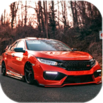 Civic Car Parking And Driving  (MOD, Unlimited Money) 0.4