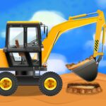 Construction Vehicles & Trucks – Games for Kids  (MOD, Unlimited Money) 2.0.2