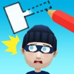 Draw & Hit: Kick the Robber!  (MOD, Unlimited Money) 0.1.8