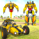 Flying Ghost Robot Car Game  (MOD, Unlimited Money) 1.1.7