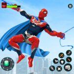 Flying Robot Hero – Crime City Rescue Robot Games  (MOD, Unlimited Money) 1.8