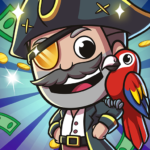 Idle Pirate Tycoon  (MOD, Unlimited Money) 1.6.1