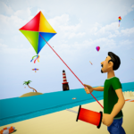 Kite Flying Combate 3d : kite game 2021  (MOD, Unlimited Money) 1.0.4