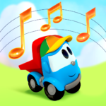 Leo the Truck: Nursery Rhymes Songs for Babies  (MOD, Unlimited Money) 1.0.67