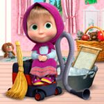 Masha and the Bear: House Cleaning Games for Girls  (MOD, Unlimited Money) 2.0.2