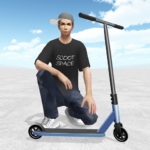 Scooter Space  (MOD, Unlimited Money) 1.010