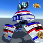 US Police Robot Shooting Crime City Game  (MOD, Unlimited Money) 3.1