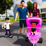 Virtual Mother Life Simulator – Baby Care Games 3D  (MOD, Unlimited Money) 1.16