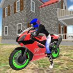 real moto bike racing- police cars chase game 2019  (MOD, Unlimited Money) 1.13