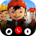 Call From Boboiboy™  📞 Video call and Chat  (MOD, Unlimited Money) 0.1