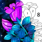Coloring Book: Color by Number Oil Painting Games  (MOD, Unlimited Money) 1.351