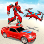 Drone Robot Transforming Game  (MOD, Unlimited Money) 2.3