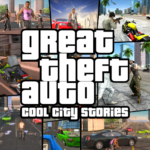 Great Theft Auto Cool City Stories  (MOD, Unlimited Money) 1.1
