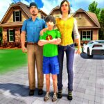 Happy Family Life Dad Mom – Virtual Housewife Care  (MOD, Unlimited Money) 1.2