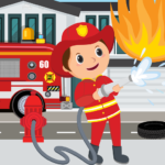 Pretend Play Fire Station 1.0.5 (MOD, Unlimited Money)