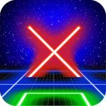 Tic Tac Toe Glow by TMSOFT  (MOD, Unlimited Money) 1.9