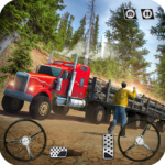 USA Truck Driving School: Off-road Transport Games  (MOD, Unlimited Money) 1.16