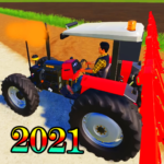 Village Land Modern Tractor And Bull Farm  (MOD, Unlimited Money) 1.01